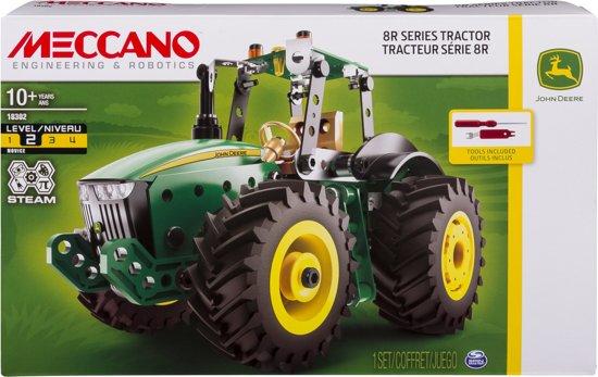 Meccano John Deere Traktor 8RT