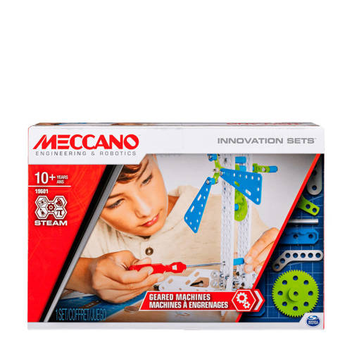 Meccano Inventor Set 3: Tandwielmachines