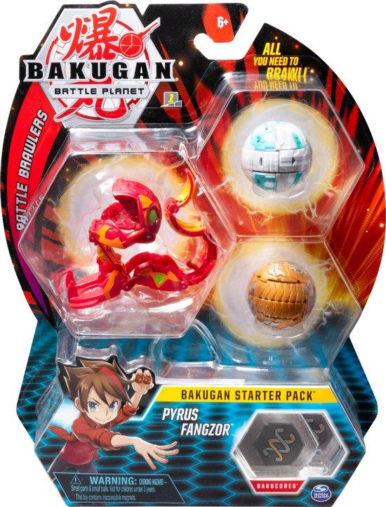 Bakugan Starter Pack 3 Pack - Pyrus Fangzor