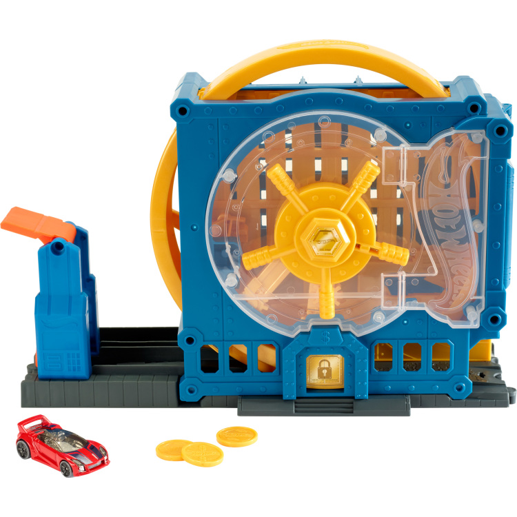 Hot Wheels Super-Bank Blast-Out