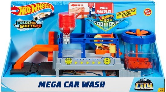 Hot Wheels Ultimate Series Mega Autowasserette