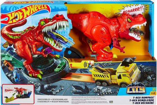 Hot Wheels City T-Rex Rampage