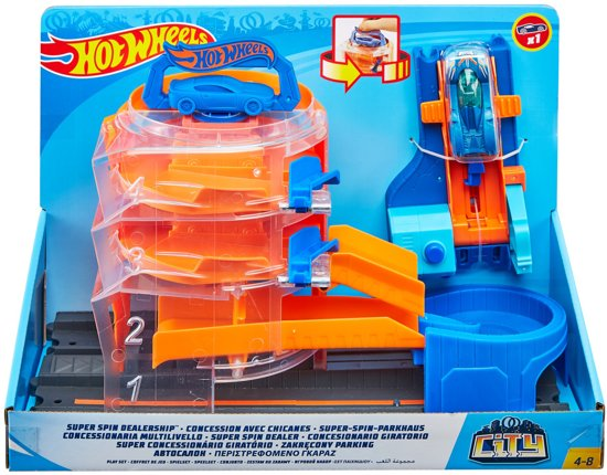 Hot Wheels City Super Spin Dealer