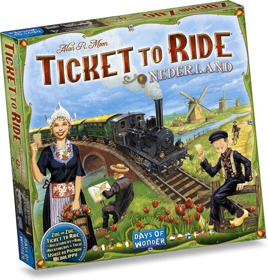 Days of Wonder Ticket to Ride Nederland - Uitbreiding
