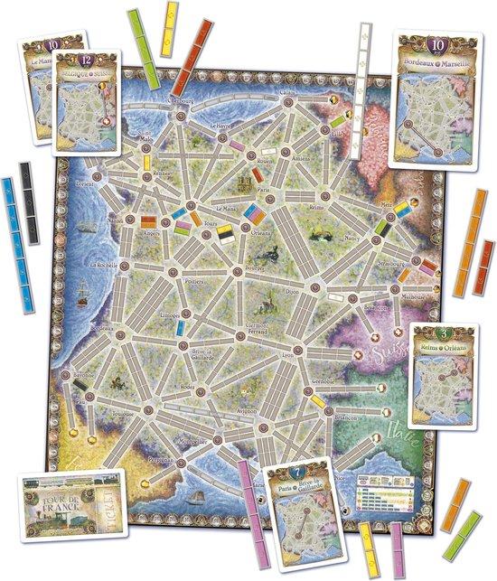 Days of Wonder Ticket to Ride France & Old West - Uitbreiding