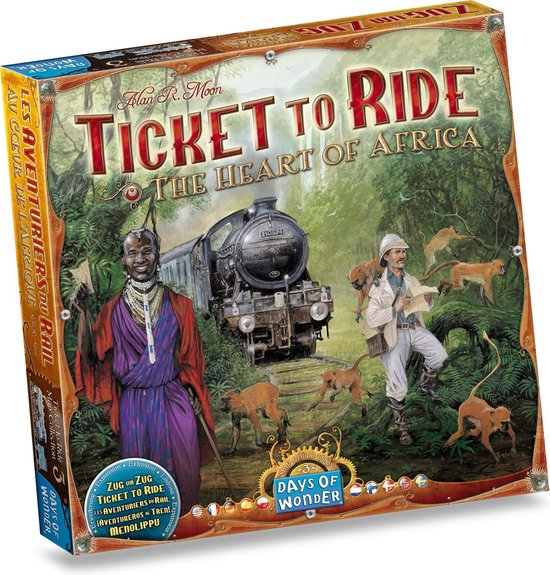 Days of Wonder Ticket to Ride Afrika - Uitbreiding