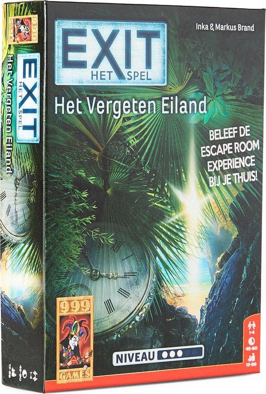999 Games EXIT Het Vergeten Eiland