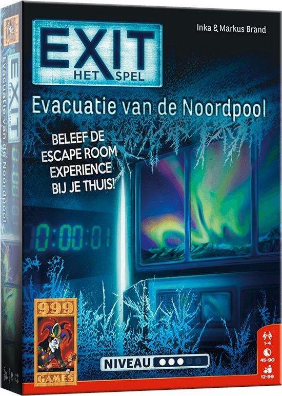 999 Games EXIT Evacuatie van de Noordpool