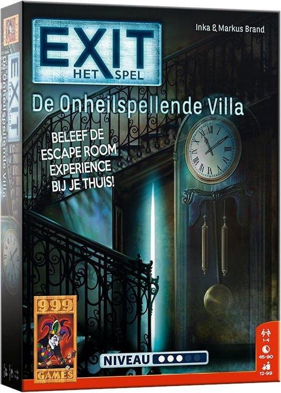 999 Games EXIT De Onheilspellende Villa