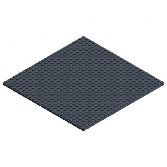 Hubelino Pi basisplaat 26 x 26 cm zwart