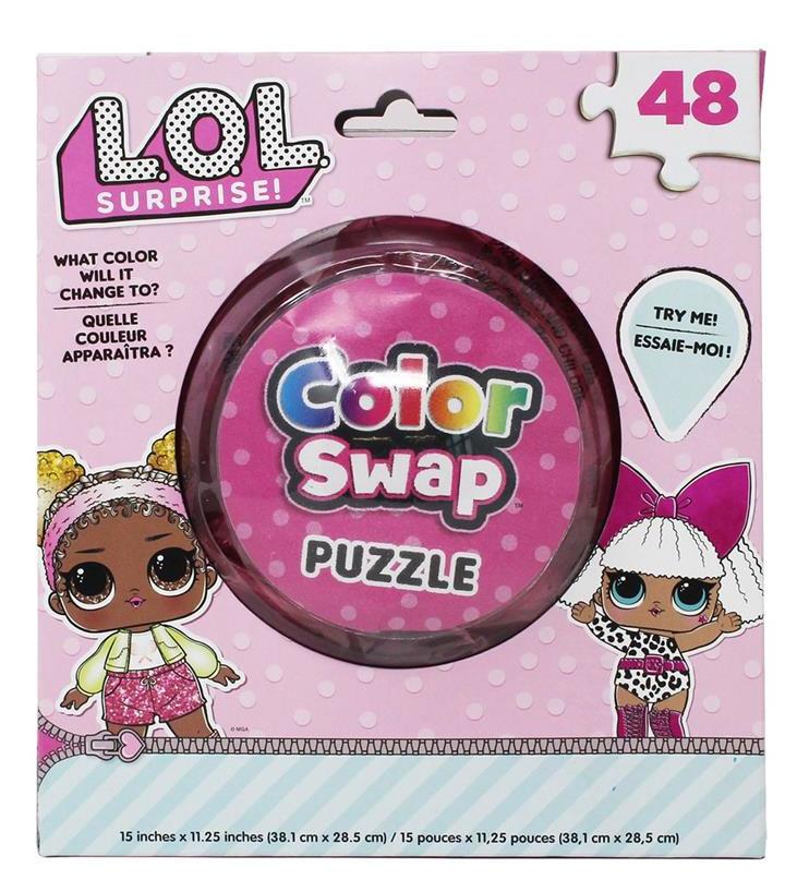 L.O.L. Surprise! legpuzzel Color Swap junior 38,1 cm roze