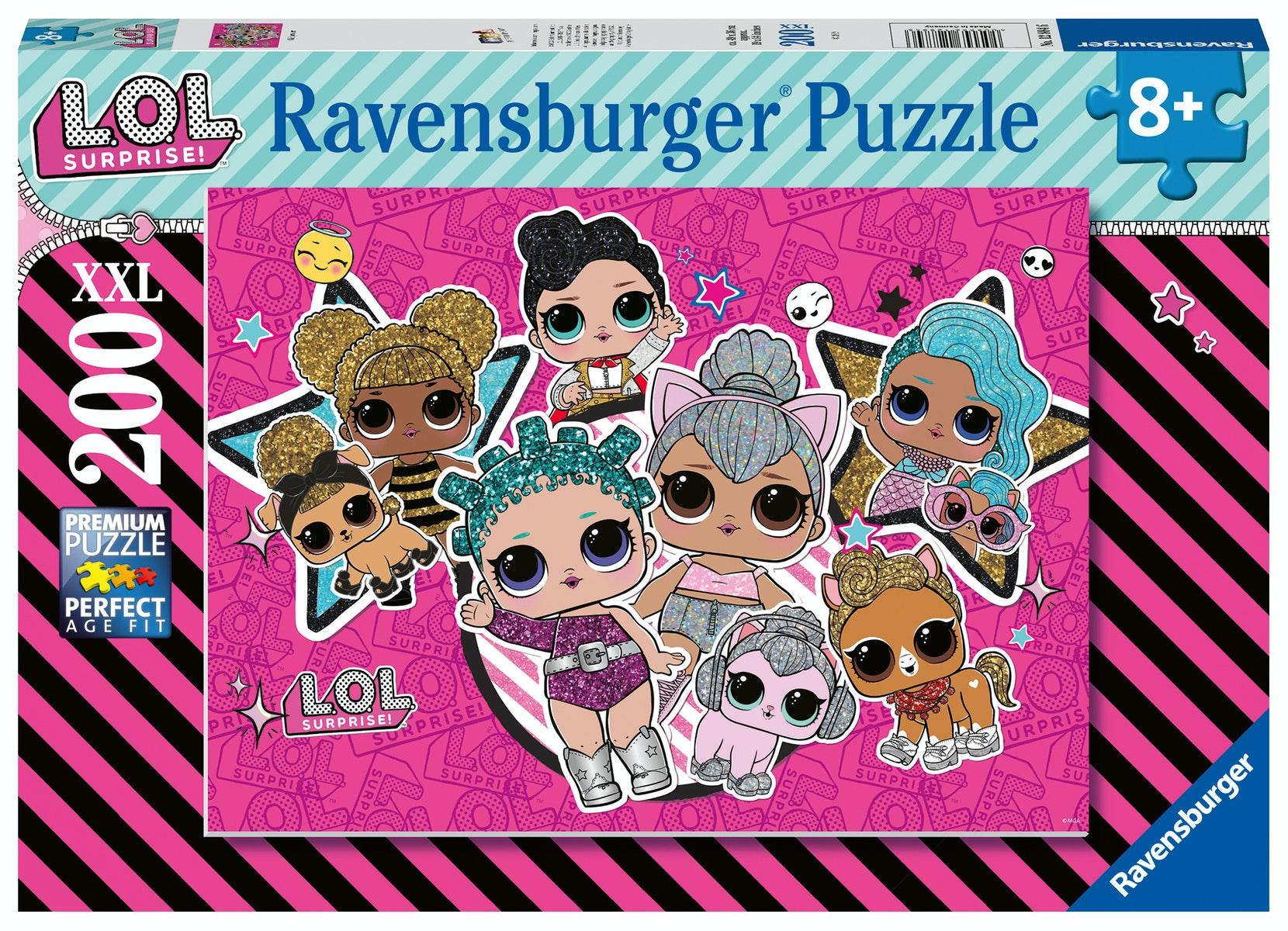 L.O.L. Surprise! L.O.L Girl Power Puzzel - 200 xxl