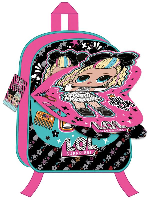 L.O.L. Surprise! rugzak meisjes 38 x 34 cm polyester/pvc roze