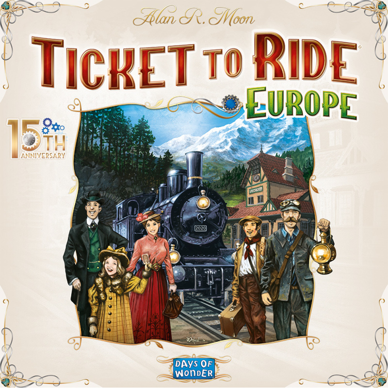 Ticket to Ride - Europe 15th Anniversary Edition
